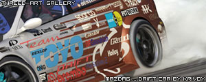 mazda6 ... drift car - krivoy